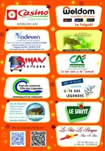 sponsors marché de noel meneham