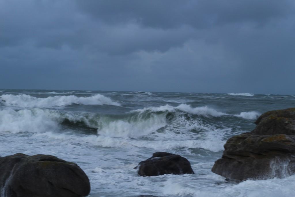 Tempête en Bretagne (Meneham)