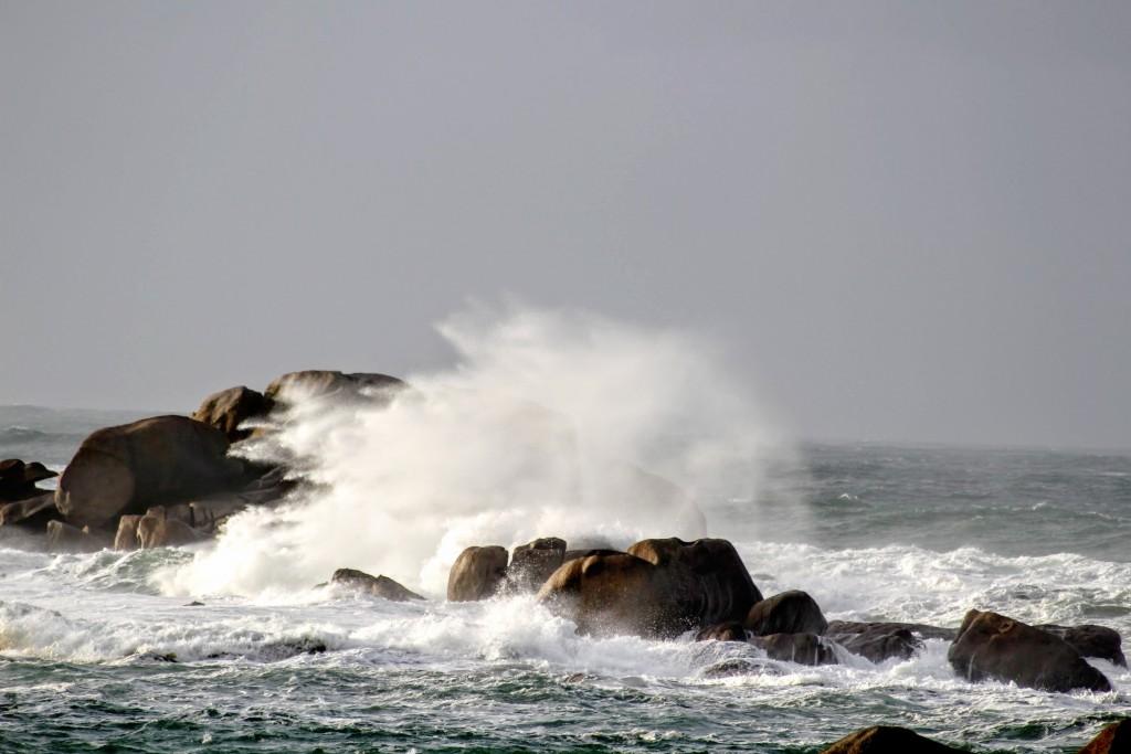 Tempête à Meneham (Février 2016)