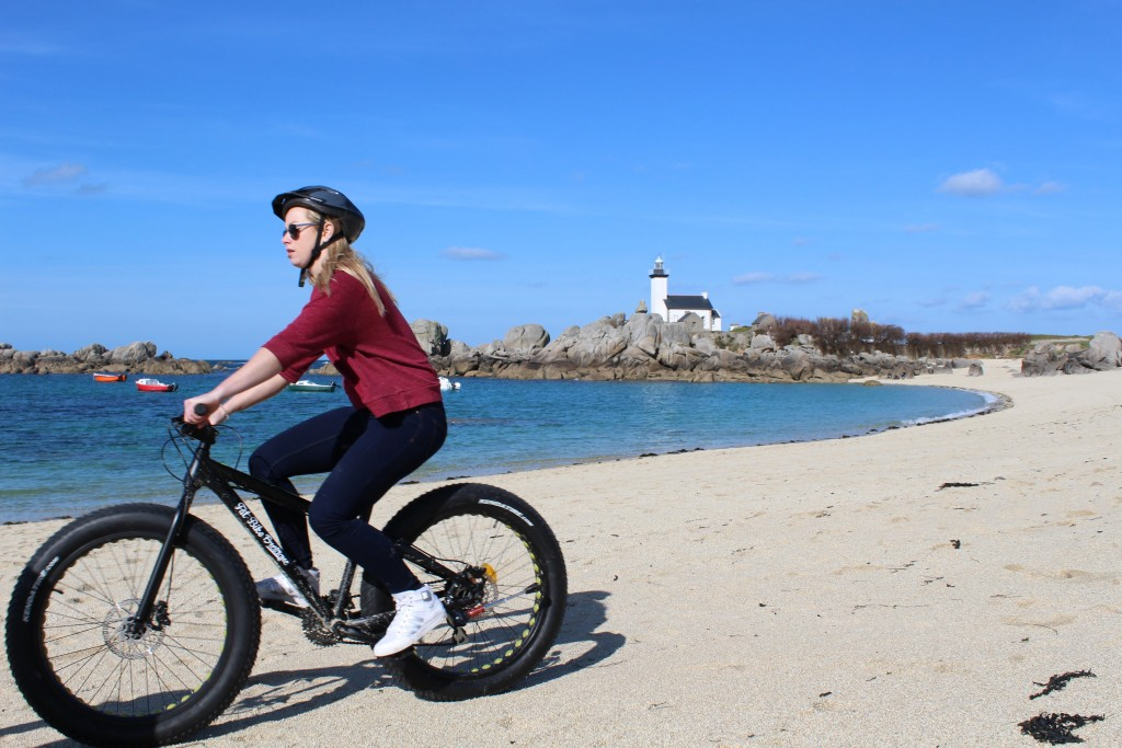 Beach Biking